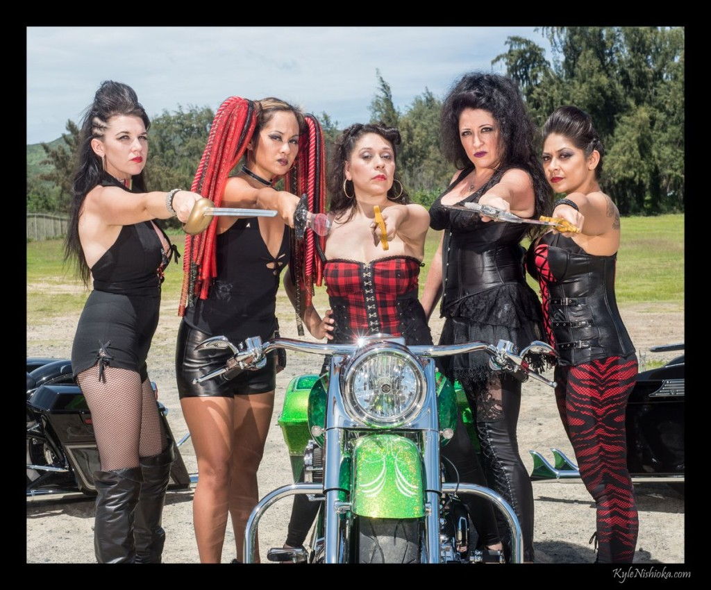 Renegade Angels - Bellows photo shoot